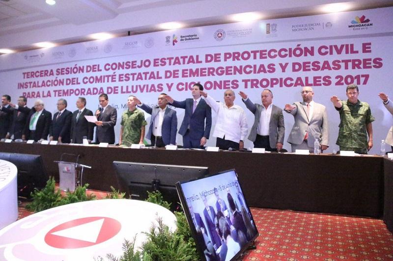 Martínez Alcázar se mostró complacido por estrechar de nueva cuenta lazos con los distintos niveles de gobierno, en la búsqueda de garantizar la integridad de la ciudadanía a través de la correcta coordinación entre autoridades