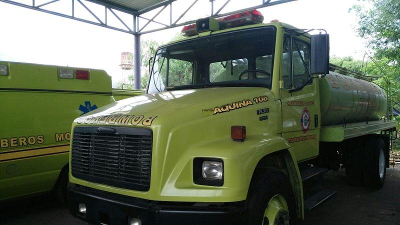 """Precisaron que a la fecha """"si hay un incendio o alguna emergencia por lluvias, sólo contamos con un camión para atender a más de un millón de Morelia los por lo tanto no tenemos con qué responder a la ciudadanía pues tenemos cuatro camiones más descompuestos"""""""