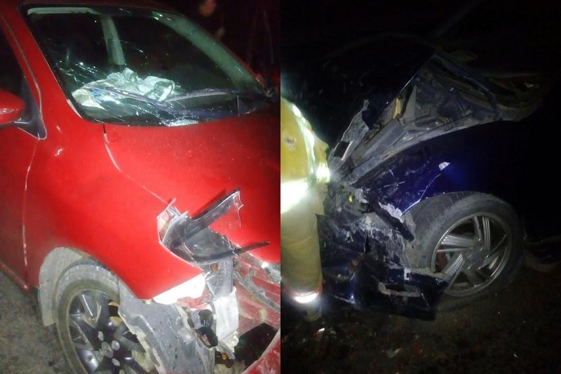 Minutos después de la 01:00 de la madrugada reportaron a la línea de emergencias 911 un accidente sobre la carretera Morelia – Salamanca a la altura del puente de Los Ramírez