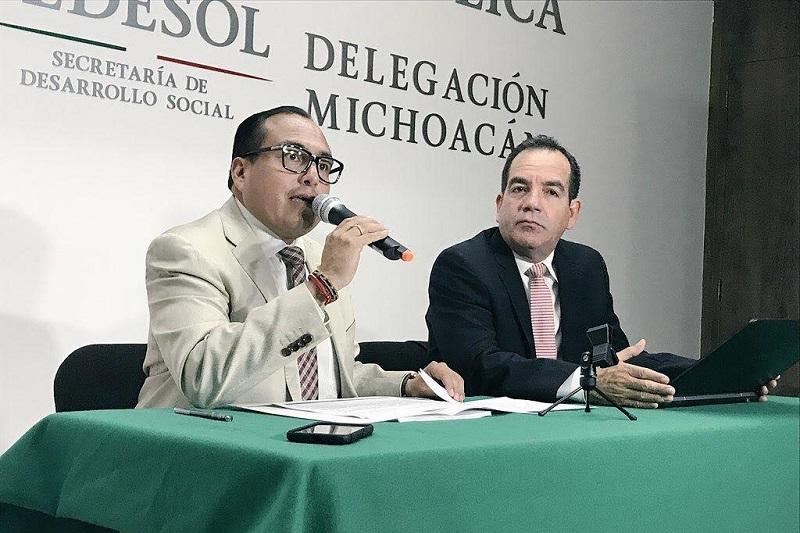 En los últimos cuatro años, los padrones de beneficiarios en Michoacán se han duplicado, permitiendo que 2.5 millones de personas acceden a los programas sociales: Color Gasca
