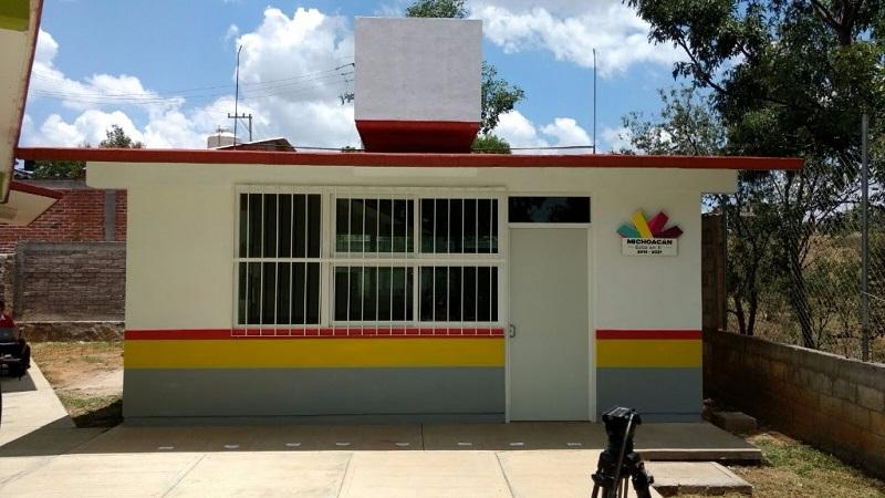 La administración que encabeza el gobernador Silvano Aureoles atiende necesidades prioritarias de la demarcación
