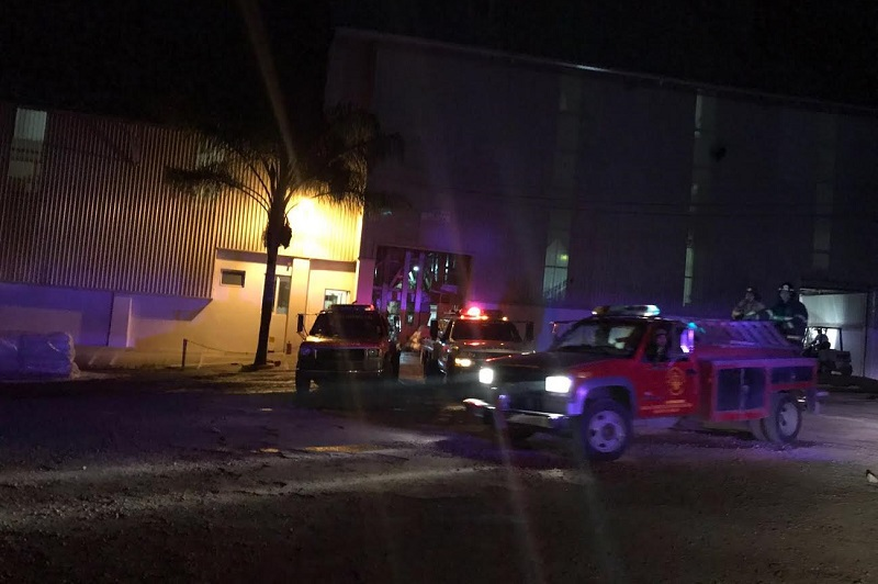 Minutos después de las 21:30 horas reportaron a los números de emergencia que sobre la carretera La Piedad - Guadalajara a la altura del kilómetro 12 en el interior de la Empresa Procesadora de Alimentos para Animales CONCENTRA, estaba saliendo humo