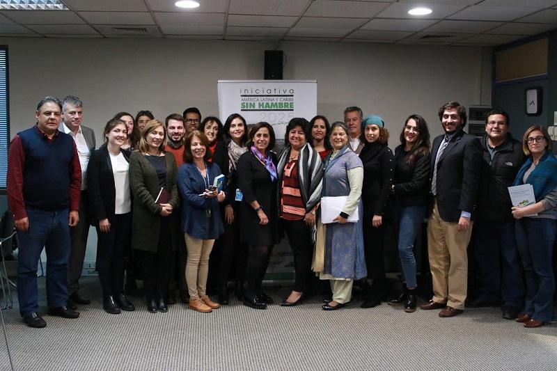 Desde las oficinas regionales de la Organización de las Naciones Unidas para la Alimentación y la Agricultura (FAO) en Chile, Calderón Hinojosa mantiene una agenda de trabajo que comprende reuniones de alto nivel con legisladores chilenos