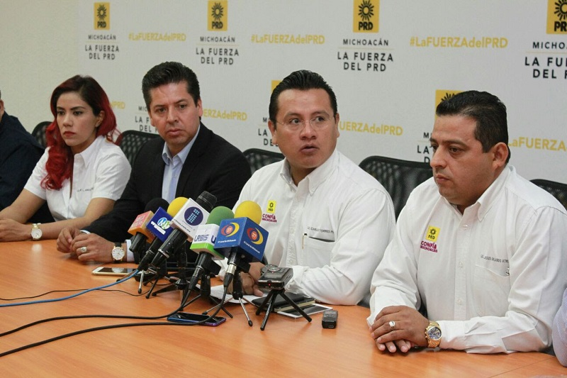 En este contexto, Torres Piña aseguró que el PRD se suma al llamado de justicia sobre lo ocurrido con Salvador Adame Pardo