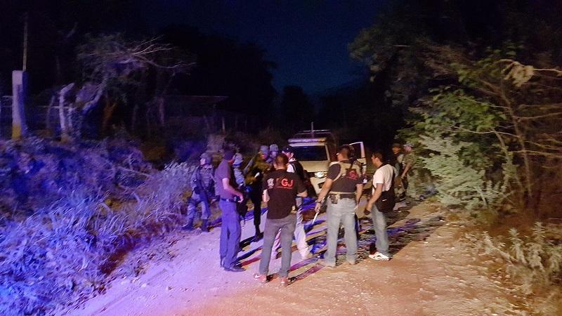 En este hecho no se registraron personas lesionadas y fallecidas, por lo que el operativo siguió entre las calles y brechas de dicha tenencia