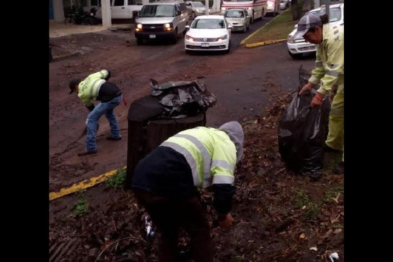 También se registran afectaciones en las inmediaciones del Río Grande, Avenida Michelena, Avenida Michoacán, Boulevard García de León y Chapultepec Sur