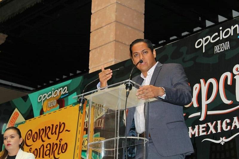 Moncada Sánchez se resistió a creer que el problema de la corrupción en México sea una cuestión cultural
