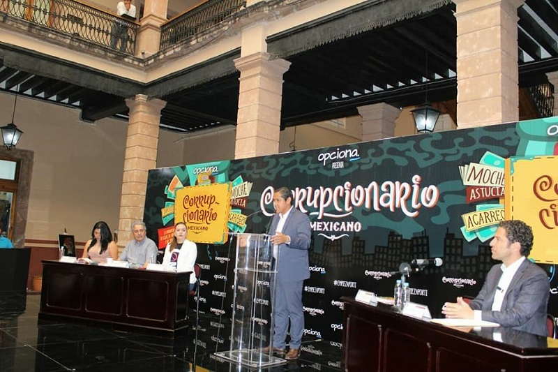 Como parte de las reformas necesarias para combatir la corrupción, Moncada Sánchez se pronunció por ciudadanizar la Auditoría Superior de Michoacán