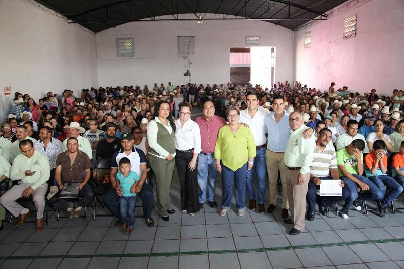 Color Gasca realizó una intensa gira de trabajo por los municipios de Briseñas, Vista Hermosa y Venustiano Carranza