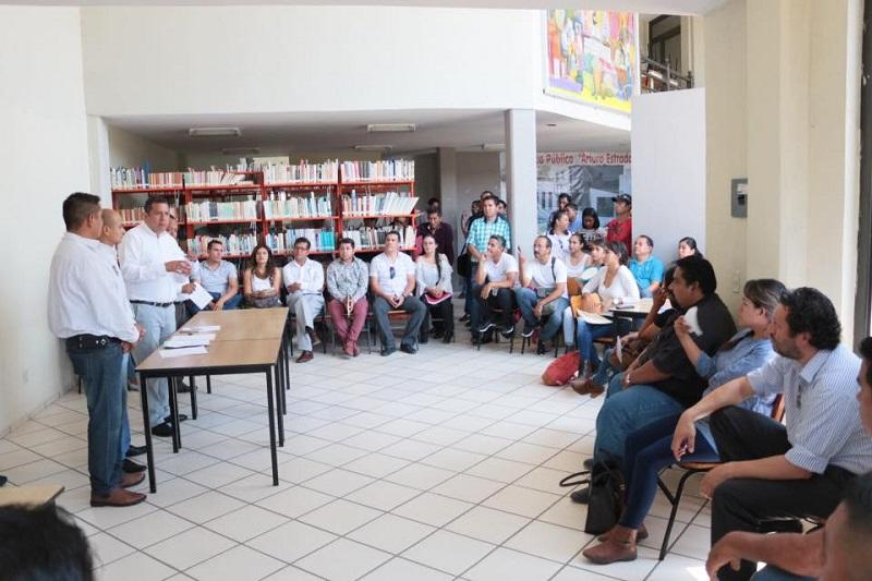 Con el propósito de conocer las necesidades de infraestructura, académica y administrativa, autoridades del Telebachillerato recibieron diferentes propuestas que trabajarán de manera conjunta con los coordinadores de 30 centros del subsistema