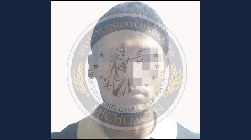Los agentes presentaron ante un juez de control a Ángel S. para que le resuelva su situación jurídica.