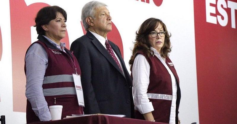"""""""Por congruencia no podemos marchar juntos con esos partidos, me refiero, para ser claro, al PRI, PAN, PRD, Verde, Movimiento Ciudadano, Encuentro Social y Nueva Alianza"""", dijo López Obrador"""