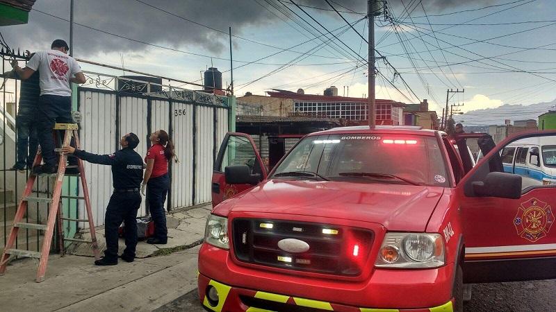 El menor fue trasladado al IMSS Regional para que recibiera atención médica en el área de urgencias