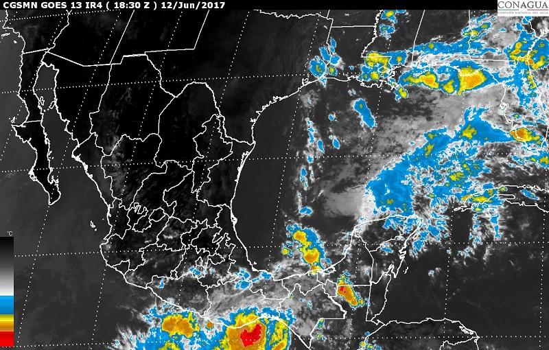 Vientos fuertes con rachas superiores a 60 km/h, se prevén en el norte y el sur de México