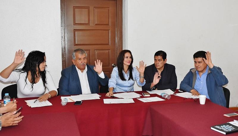 Los integrantes de las comisiones de Derechos Humanos y de Justicia, integrarán una terna para presentar ante el Pleno del Congreso del Estado
