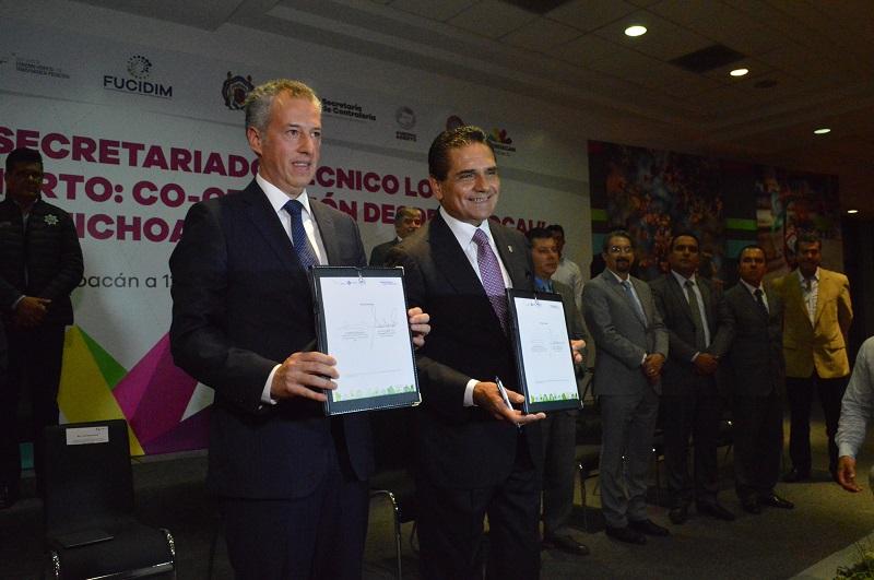 Aureoles Conejo manifestó que Michoacán requiere de la participación de las y los ciudadanos con las instituciones y ámbitos de gobierno