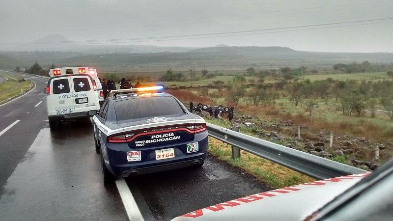 Personal de la Fiscalía Regional realizó el levantamiento de los cuerpos para posteriormente trasladarlos al Servicio Médico Forense