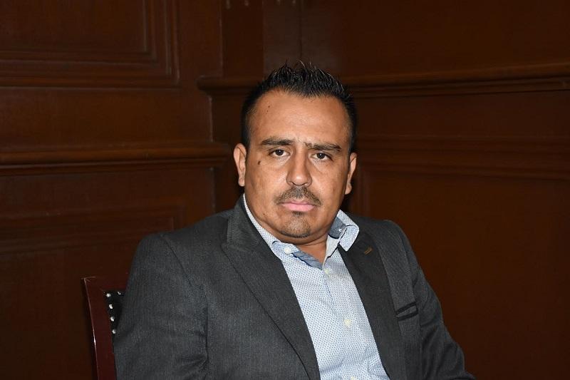 Zepeda Ontiveros, diputado por el Partido Movimiento de Regeneración Nacional (Morena), e integrante de la Representación Parlamentaria