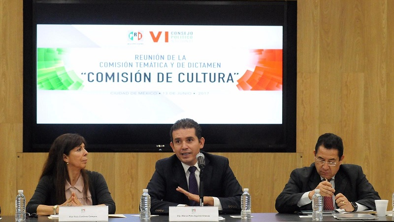 Para Aguirre Chávez, la cultura debe ser un eje importante para el desarrollo de los mexicanos