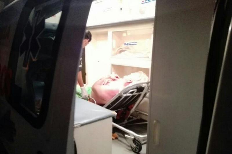 Tras cometer el ilícito el delincuente se dio a la fuga del lugar por lo que vecinos dieron aviso a las autoridades y solicitaron el apoyo de paramédicos de Cruz Roja