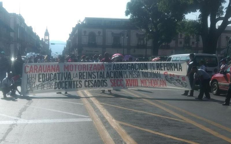 Se tiene previsto que la caravana pasará por Yuriria, Celaya y Querétaro, para finalmente arribar a la Ciudad de México (FOTOS: FRANCISCO ALBERTO SOTOMAYOR)