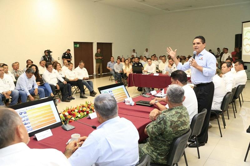 Encabeza gobernador Mesas de Trabajo del Consejo Ciudadano para el Desarrollo Integral de Lázaro Cárdenas