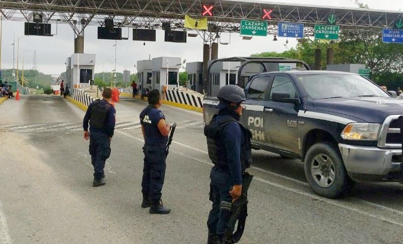 La SSP refrenda su compromiso de salvaguardar a las y los michoacanos, y exhorta a los manifestantes a actuar en el marco de la legalidad