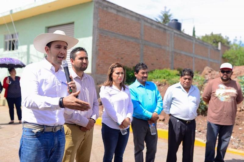 Llegó la hora de tendernos la mano para lograr el desarrollo de Michoacán: Cortés Mendoza