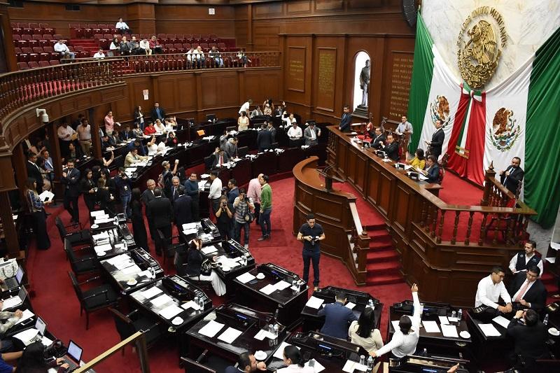 El dictamen fue elaborado por las comisiones unidas de Hacienda y Deuda Pública y de Programación, Presupuesto y Cuenta Pública
