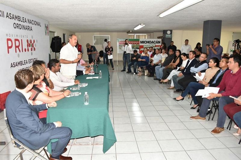 Silva Tejeda aseguró que el PRI es  la primera fuerza política de México y del tricolor han emanado otros partidos y corrientes