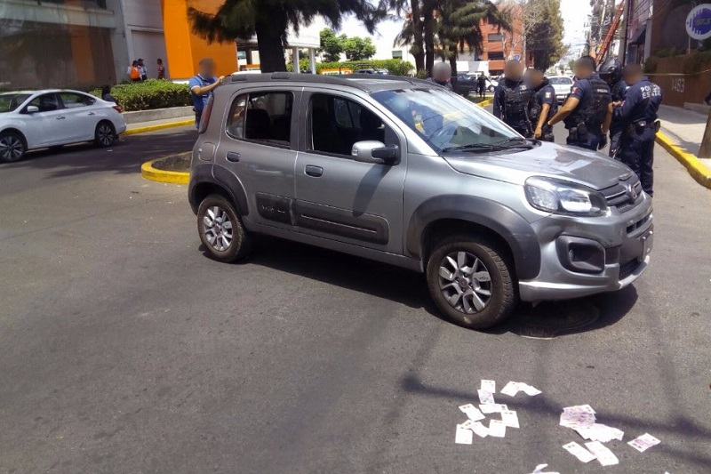 La detención se realizó sobre la calle Artilleros del 47, perteneciente al sector 3, cuya vigilancia acaba de asumir la Secretaría de Seguridad Pública del Estado (SSP) en acuerdo con la autoridad municipal