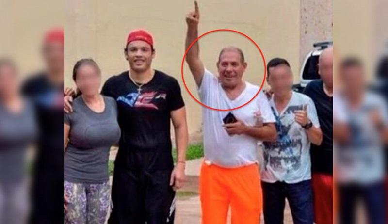 """A través de su cuenta de Instagram, Chávez Carrasco explica que su tío, también conocido como """"El Borrego"""", no quiso entregar el dinero que le exigían los delincuentes por lo que lo mataron"""