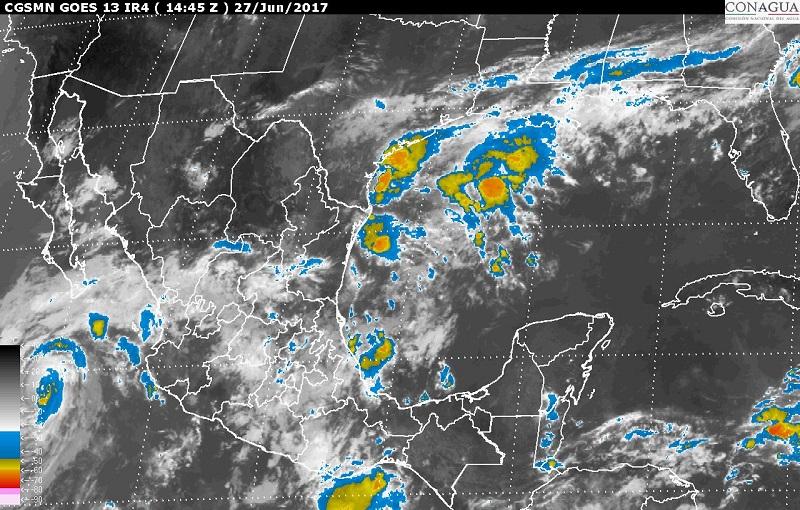 Dora se mantiene como huracán categoría 1, al sur de Baja California Sur