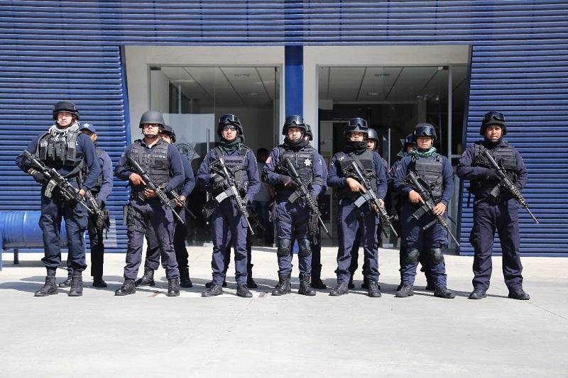 Michoacán fue el primer estado de la República en contar con policías capacitados por la Iniciativa Mérida durante este año