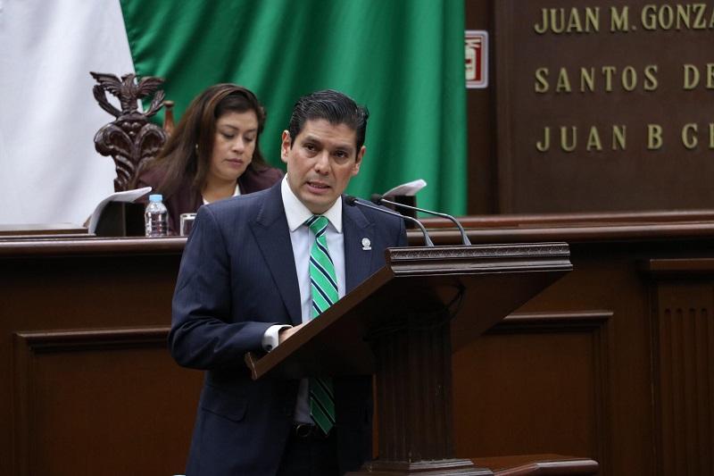 """""""En Michoacán es un tema que nos preocupa, como sociedad tenemos la obligación de tener la capacidad de incluir a todos los individuos por igual, sin distinción, teniendo derecho a una educación de calidad"""": Núñez Aguilar"""