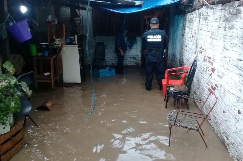 El Ayuntamiento de Los Reyes informó que no hubo necesidad de abrir algún albergue en el municipio