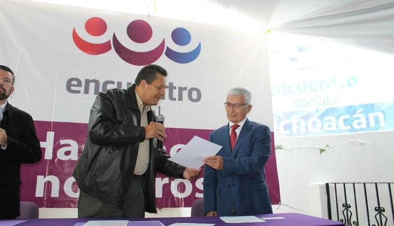 """Javier Valdespino, anticipó que en las próximas elecciones Encuentro Social irá con candidatos propios, """"porque vamos a ser un partido diferente, y en ese sentido queremos crecer de manera individual"""""""