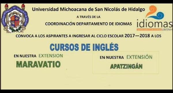Es importante tener en cuenta que todos los alumnos de Idiomas de la Universidad Michoacana que hayan interrumpido sus estudios por un año o más y deseen continuar, deberán presentar examen de clasificación para ser ubicados en el nivel que les corresponde