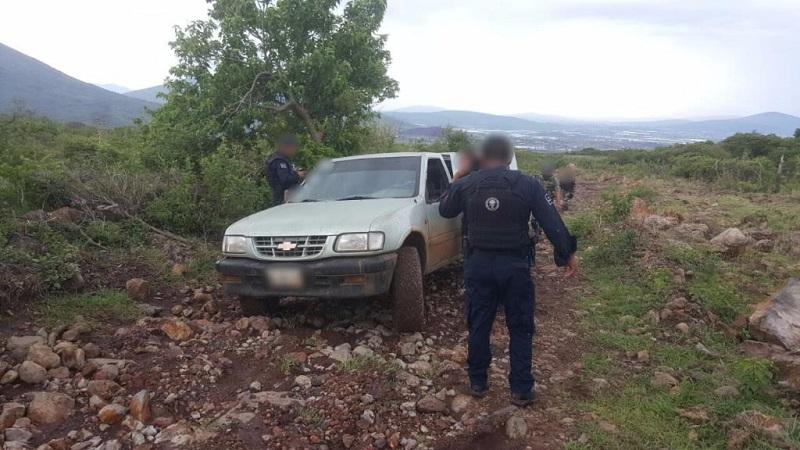 Fuerzas federales y elementos de la Policía Michoacán intensificaron esta tarde los recorridos de vigilancia en Jacona y localidades vecinas