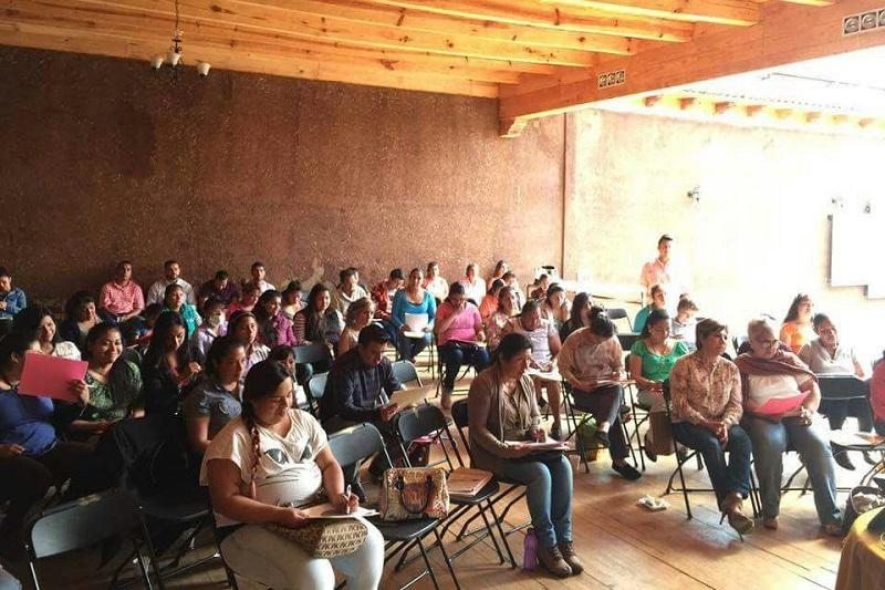 Los apoyos que se han otorgado van desde materia prima a mujeres productoras de Pátzcuaro y Tlalpujahua, quienes pertenecen a diversas marcas colectivas