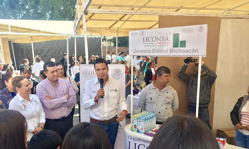 Atender los sectores más vulnerables de Michoacán, el objetivo: Sergio Flores Luna