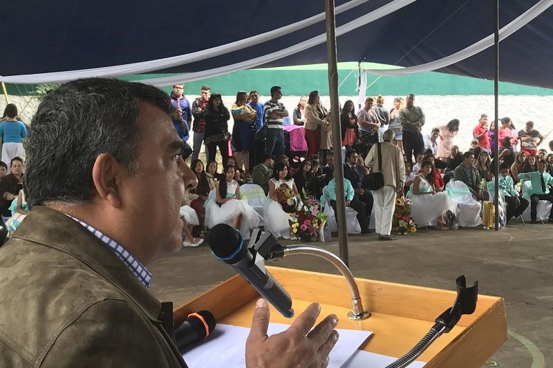 Constantino Ortiz García apadrinó a la Generación 2011-2017 de la Escuela Primaria Leyes de Reforma, ubicada en la colonia Lomas del Pedregal