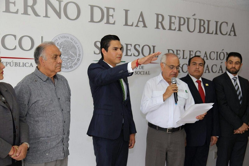 Objetivo principal, cumplir a cabalidad la instrucción del presidente Enrique Peña Nieto de mejorar la calidad de vida de los michoacanos: Sergio Flores