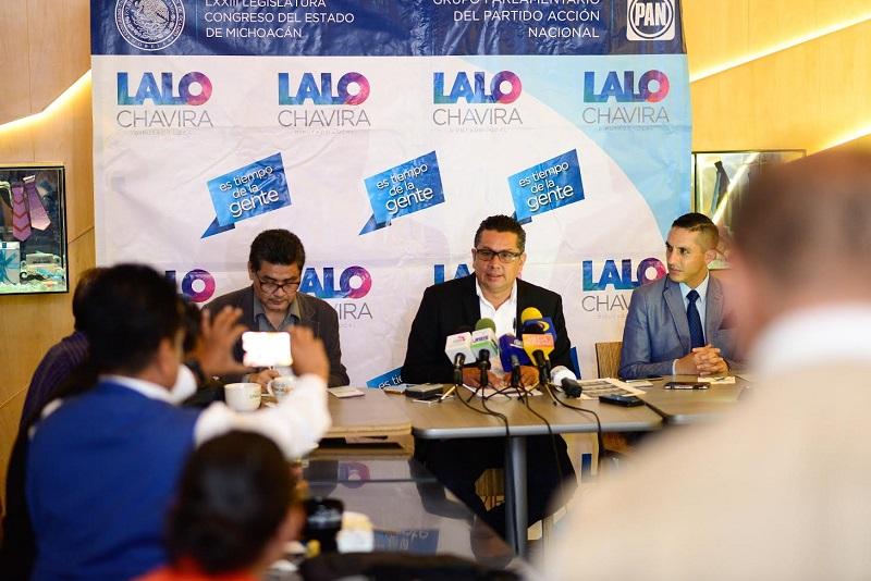 En conferencia de prensa, Eduardo García Chavira expresó que de manera desafortunada los municipios de Apatzingán y Zamora se encuentran registrados entre los 10 municipios con mayor índice de homicidios  a nivel nacional
