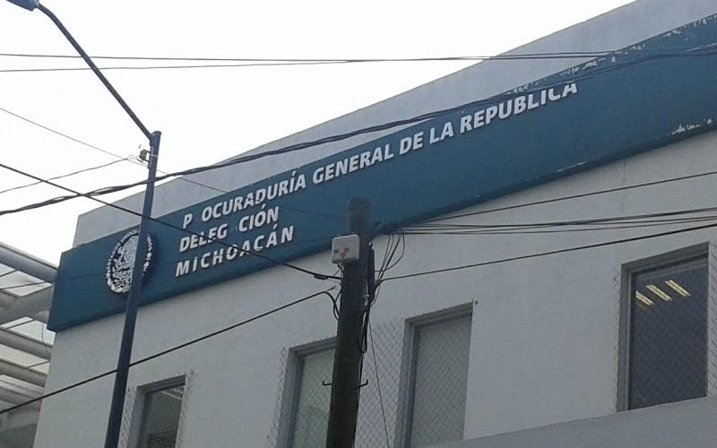 Los psicotrópicos fueron puestos a disposición del Ministerio Público Federal por efectivos de la Policía Federal en Morelia
