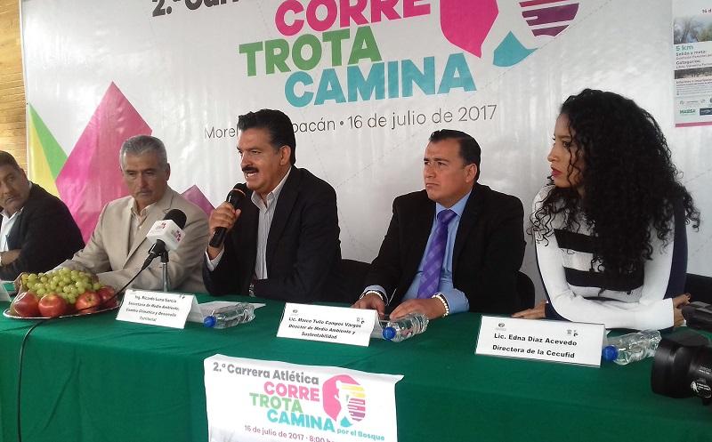 El titular de la Semaccdet, Ricardo Luna García, resaltó la coordinación y vinculación de los tres órdenes de gobierno para frenar el deterioro de los recursos naturales