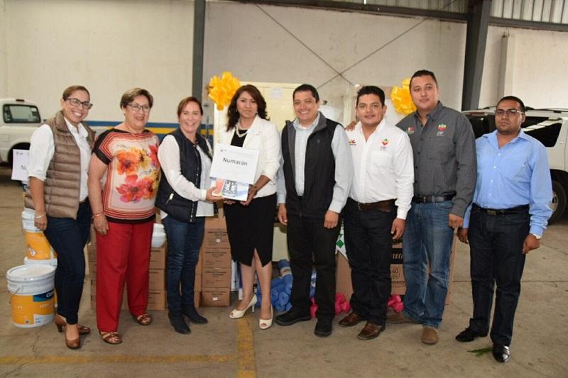 La última entrega, este miércoles en Penjamillo; la inversión, de 1 millón 679 mil 660 pesos en beneficio de 12 municipios de la región La Piedad