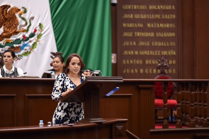 En el PAN, aprobamos leyes que se traduzcan en condiciones dignas para los michoacanos: Andrea Villanueva