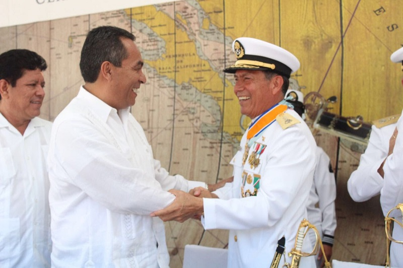 El vicealmirante, Francisco Pérez Rico, asume el Mando de Armas de la Zona Naval, y sustituye al vicealmirante, Gonzalo Ortiz Guzmán