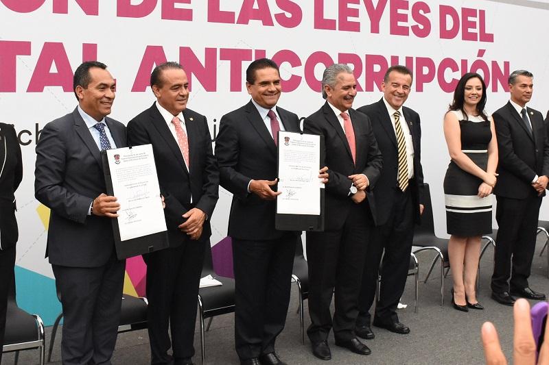 El Poder Legislativo fue pieza fundamental en la implementación del Nuevo Sistema Estatal Anticorrupción